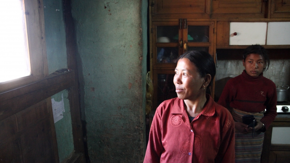 Shamans, like Tsering Yangzom in the Haa Valley, often treat patients experiencing symptoms of mental illness. She describes them as being afflicted by deities and treats them by invoking mantras.