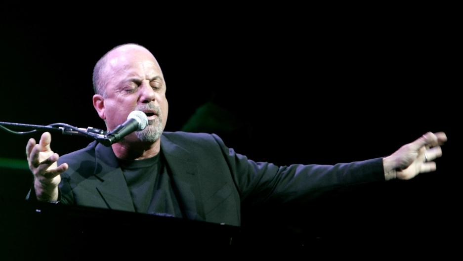 Billy Joel performs in 2006.
