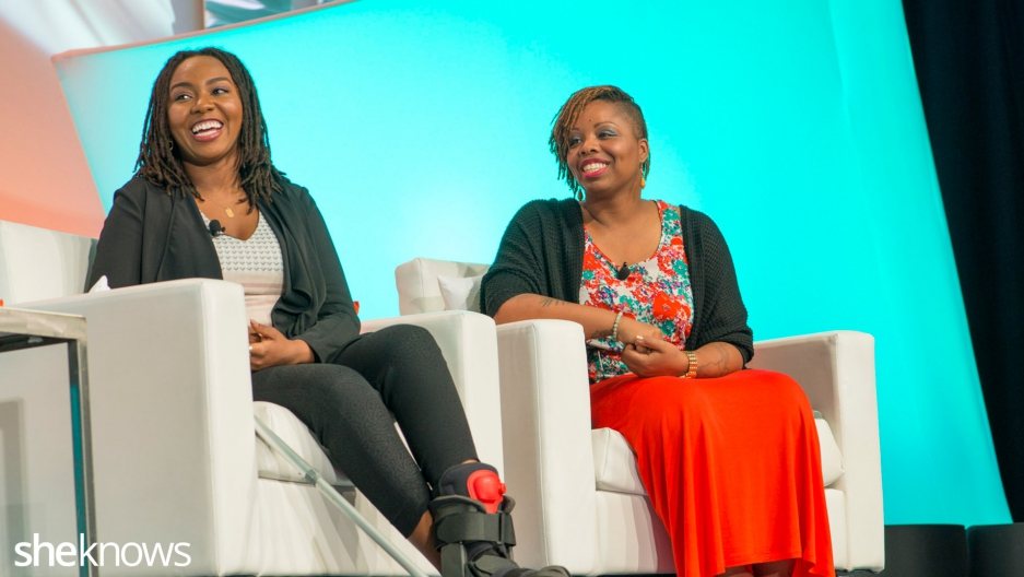 Opal Tometi and Patrisse Cullors