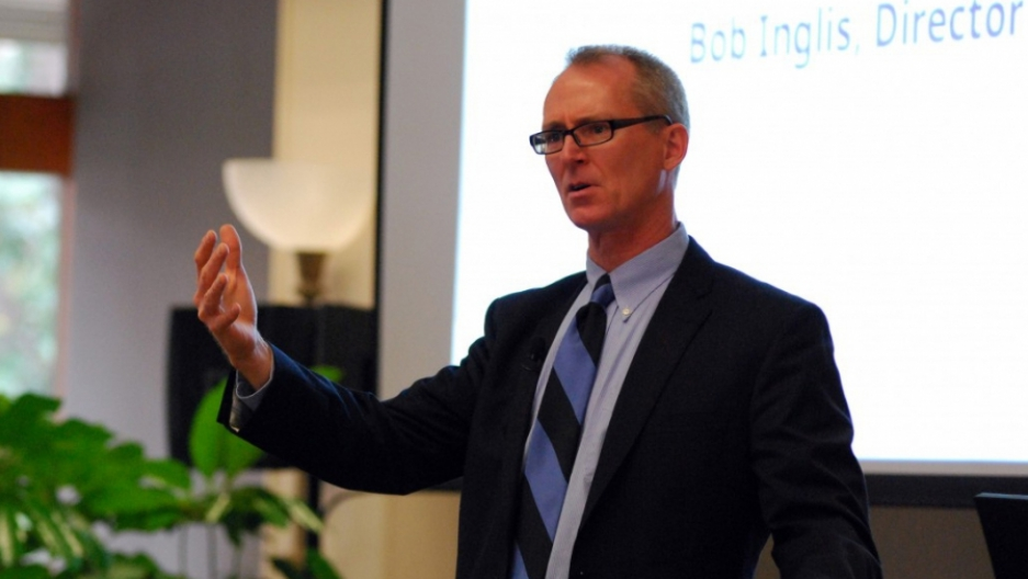 "Former South Carolina congressman Bob Inglis says Donald Trump and his Republican party are ""shrinking in science denial"" on climate change because they don't like the solutions proposed by Democrats. But he says there's a simple conservative solution his"