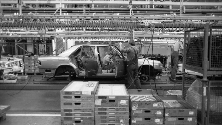 Benz factory