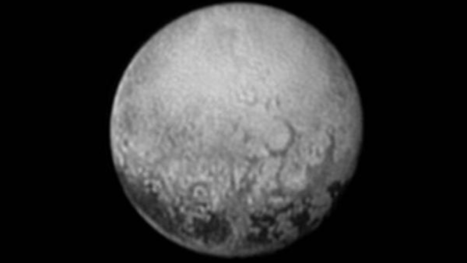 Pluto as seen from New Horizons on July 11, 2015.