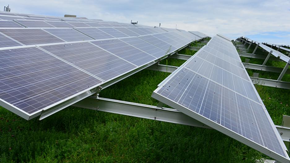Mass. solar panels
