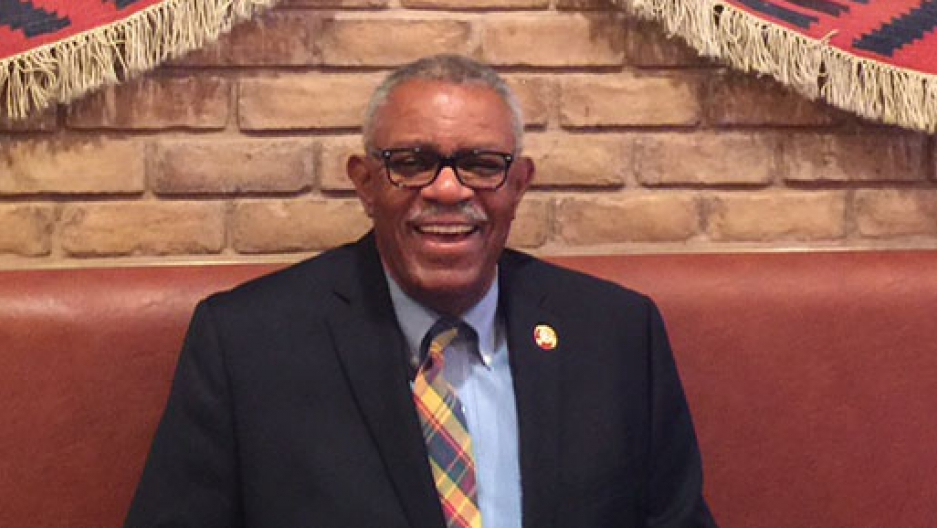 Jarvis Tyner has been a member of the Communist Party USA for over a half century. Now he's retiring from the Party staff.