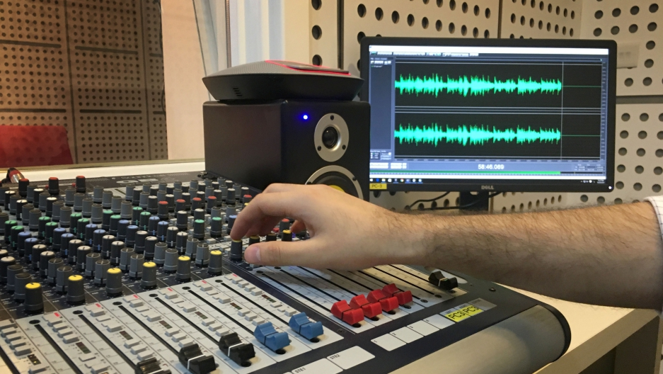 A group of Mosul exiles set up al-Ghad radio station to reach people in their city under ISIS control. The station manager says it's also helping people in the city communicate with one another.