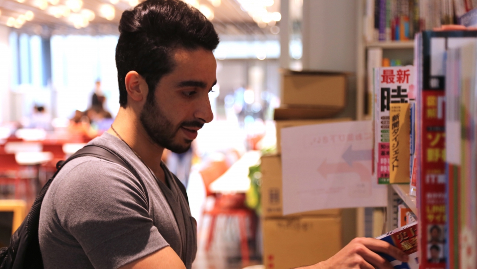 Jamal is a Syrian refugee living in Tokyo. He's made friends there and learned Japanese. But he misses Syrian food.