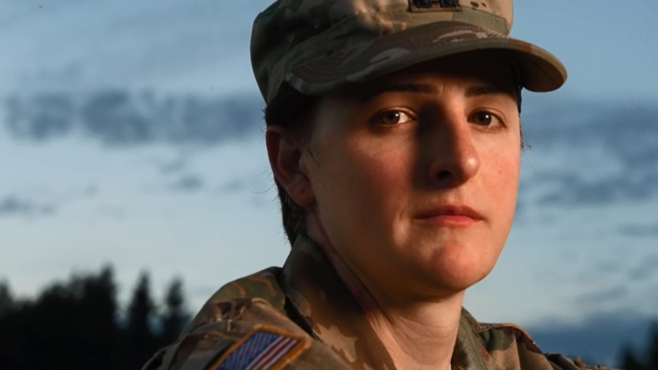 Capt. Jennifer Peace realized she was transgender while serving in Afghanistan.