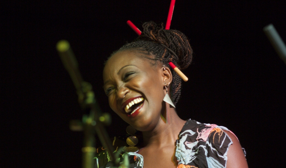 Kasiva Mutua first learned percussion from her grandmother