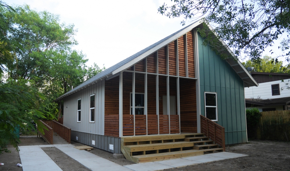 This is the first RAPIDO house, located in Brownsville, Texas.