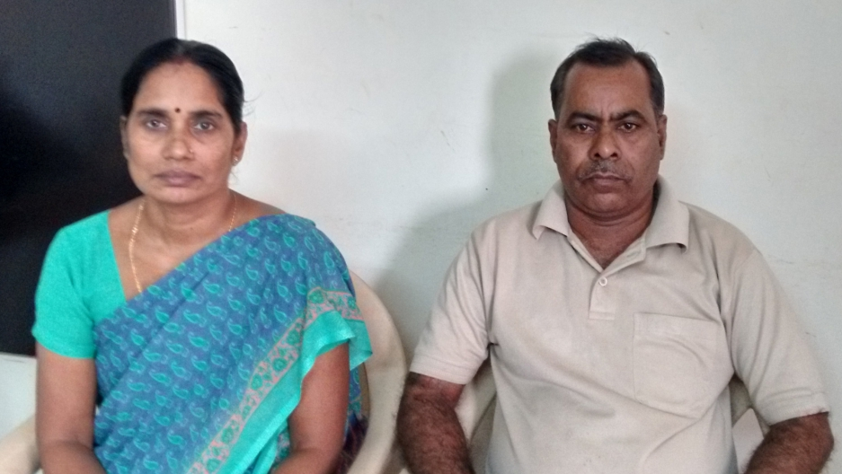 "Asha Devi and her husband Badrinath Singh in their apartment in New Delhi. Three years after her daughter's gang rape and murder, Asha says attitudes about rape victims are starting to change in India. ""Earlier, families who experienced this would hide it"
