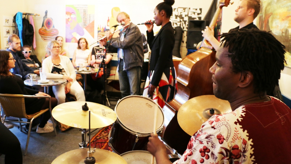 These African and Scandinavian musicians create sweet sounds