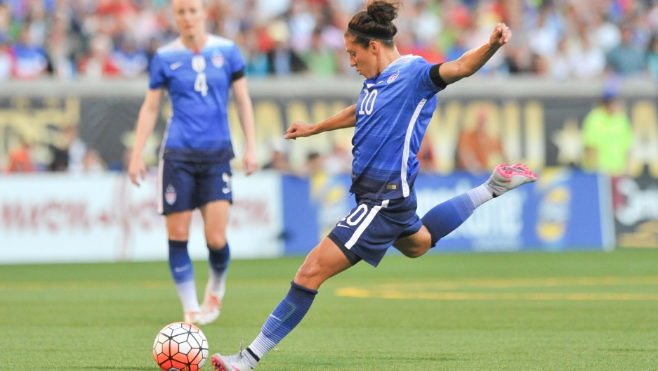 Us Soccer Star Carli Lloyd Is Named Fifa S Woman Player Of The Year