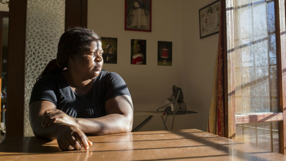 Pat traveled from Nigeria to Florence in search of work and was sold into a sex trafficking ring. After she escaped, she lived as an undocumented migrant in southern Italy until an advocacy group helped her secure status. Now she's applying for Italian ci