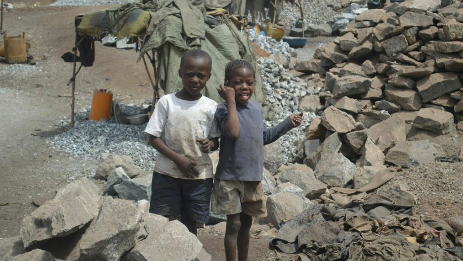 Children in the Burkina Faso village of Dori start gold mining from the age of 7.