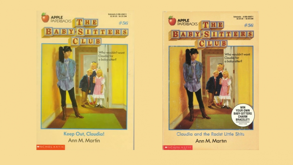 Two book cover images.