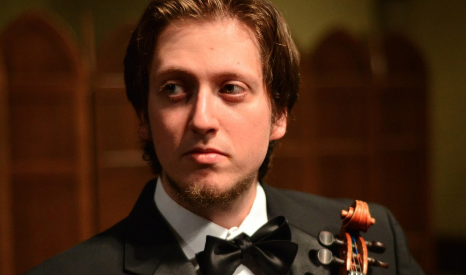 David Radznyski is the Israel Philharmonic Orchestra's newest concertmaster. He's a 28-year-old violinist from New Haven, Connecticut, with Israeli roots.