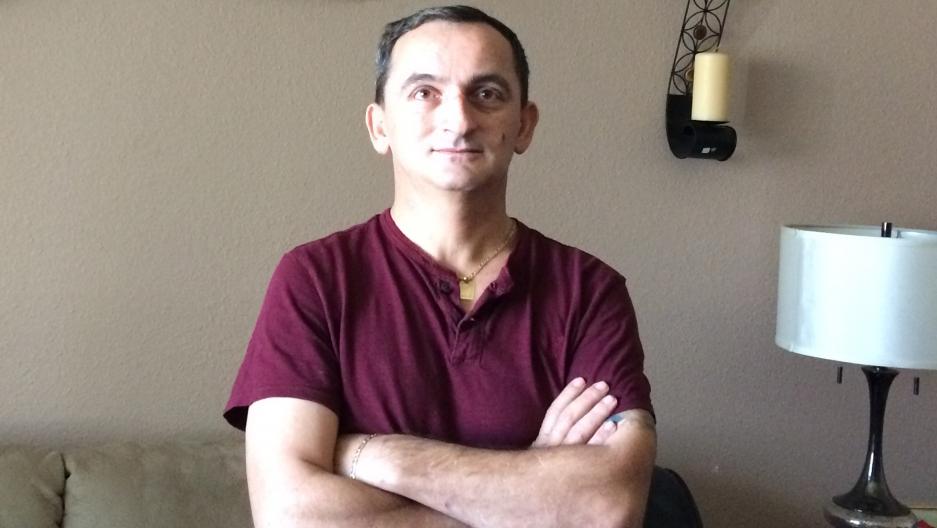 Vitomir Spiric in his home in Phoenix.