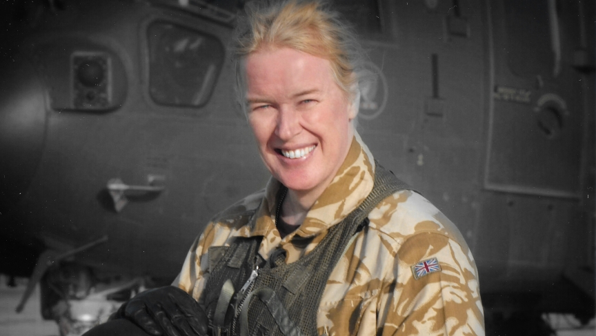 Flight Lt. Caroline Paige is the first openly transgender officer to serve in the Royal Air Force. She says once fellow officers saw she could do the job, her identity was no longer an issue.