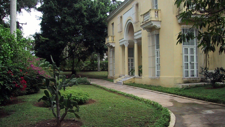 This home once belonged to the Schechter family in Cuba