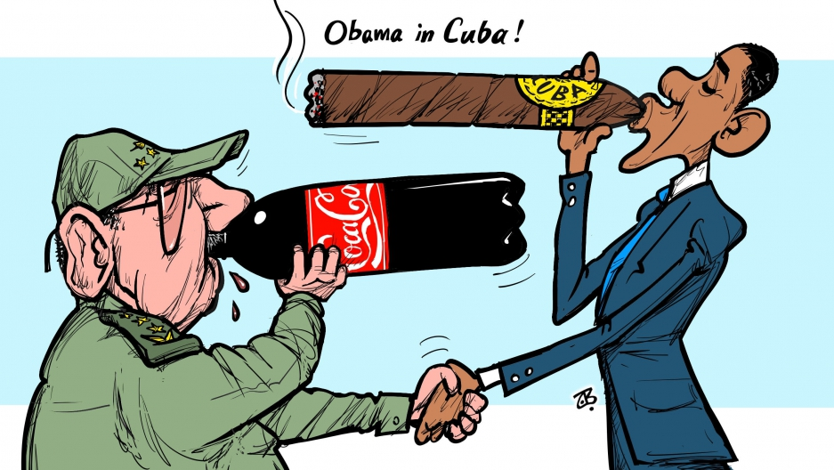 10 cartoons from around the world reacting to President ...