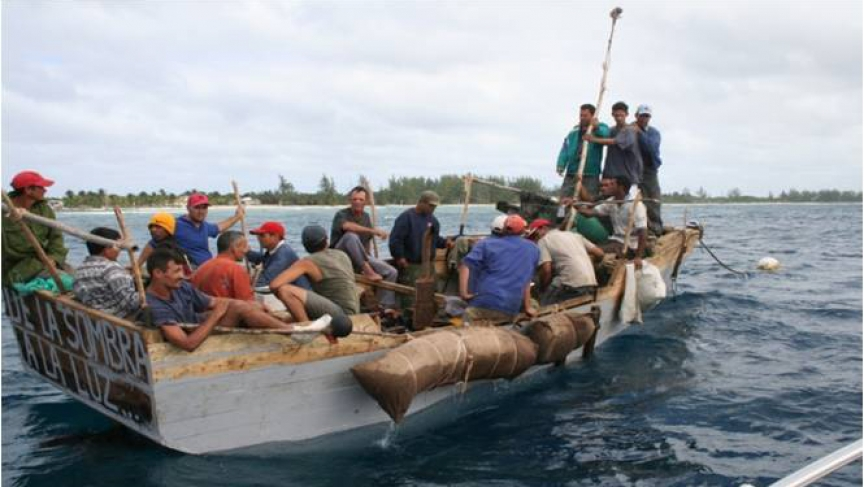 The US Coast Guard intercepted a vessel carrying Cuban migrants en route to Florida this summer. New York Times reporter Frances Robles recently reported a story that highlights a slow but steady increase in the number of Cubans trying to enter the US.