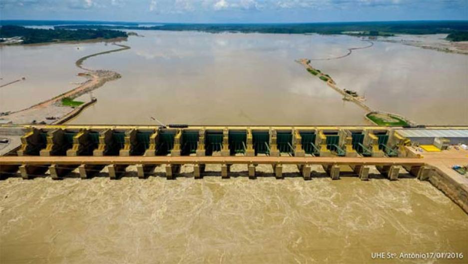 San Antonio dam