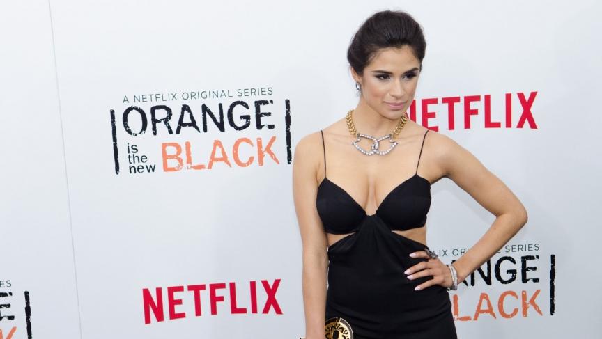 Orange is the New Black actress Diane Guerrero.