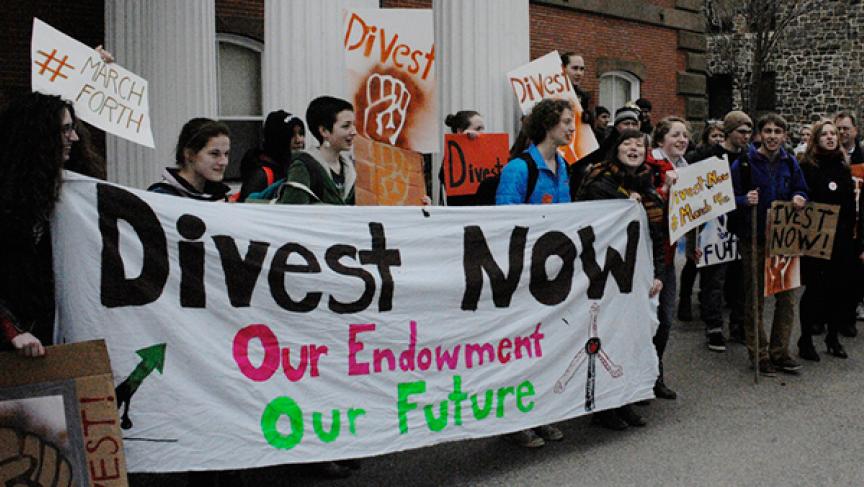 Divestment banner