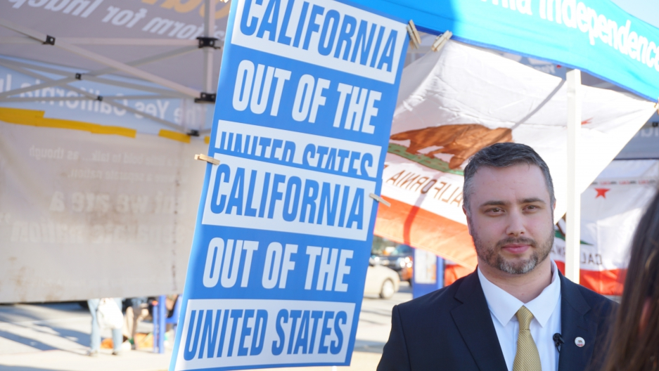 a california ballot initiative called yes california calls for the
