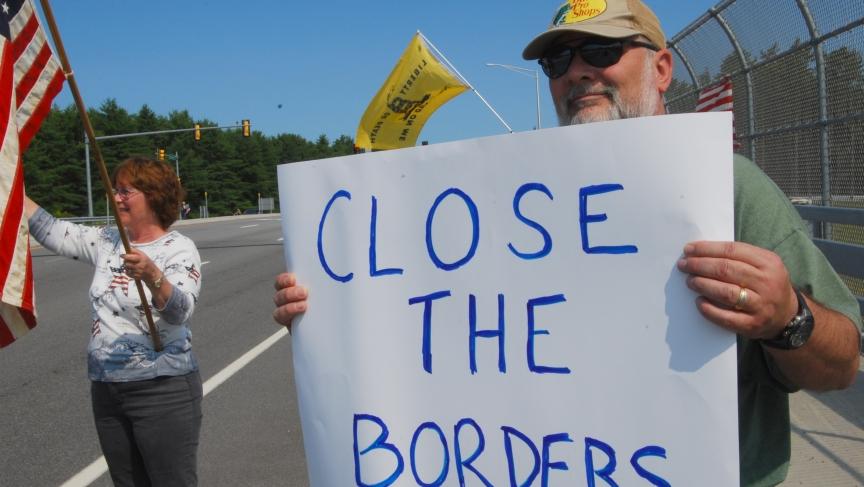 New Hampshire Protest
