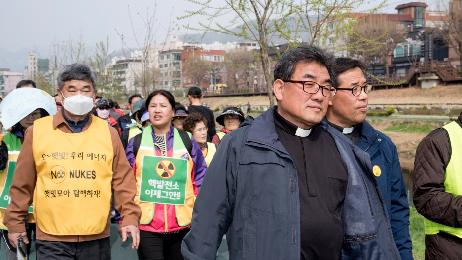 South Korean Catholics Take The Lead In Protesting Against Nuclear