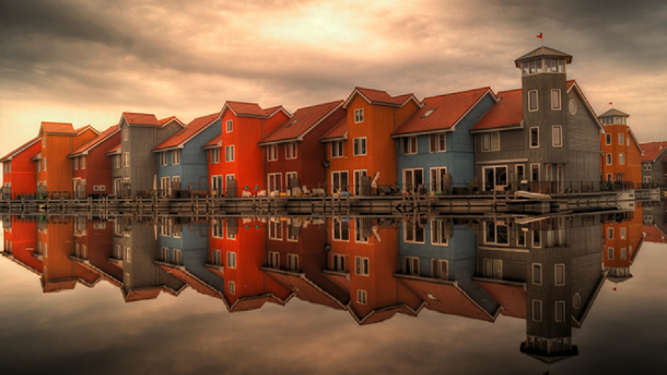 Dutch city on the river