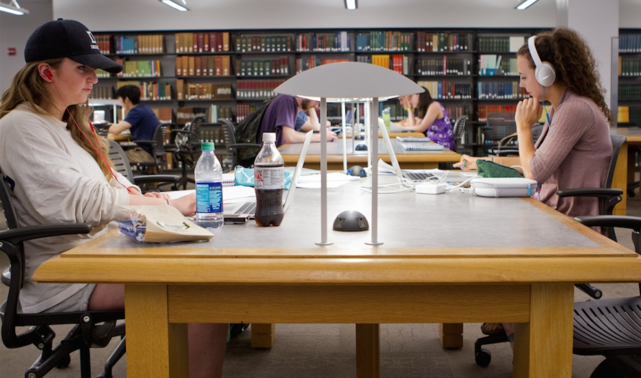 What students in Dartmouth's Baker Library might not know is their smart phones have the capabilities to predict their GPA.