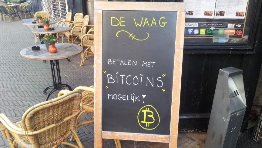 De waag delft bitcoins