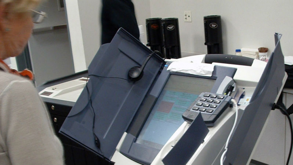 Diebold Elections System AccuVote-TSx DRE
