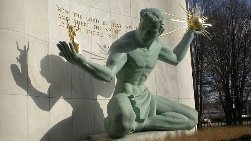 Spirit of Detroit statute, Detroit, Michigan