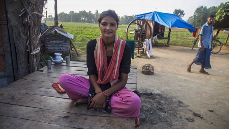Rihana Shekha Dhapali, a bride-burning victim in Nepal, wants people to know what happened to her.