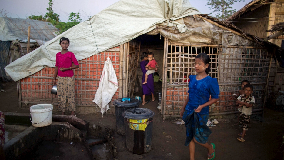 IDP Camp in Sittwe