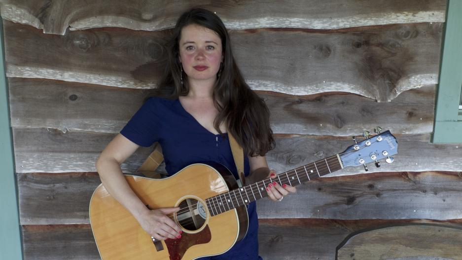 Emily Scott Robinson in Wimberley, Texas during SXSW