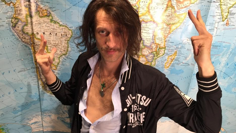 Eugene Hutz of the band Gogol Bordello