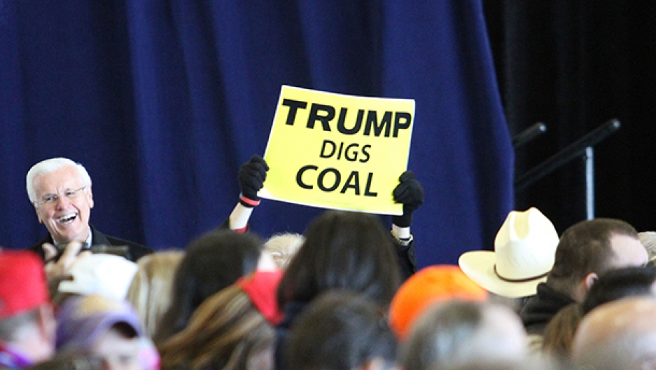 Trump coal supporter