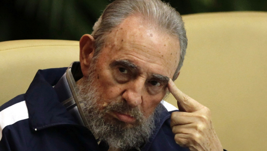 Former Cuban leader Fidel Castro attends the closing ceremony of the sixth Cuban Communist Party congress in Havana April, 2011.