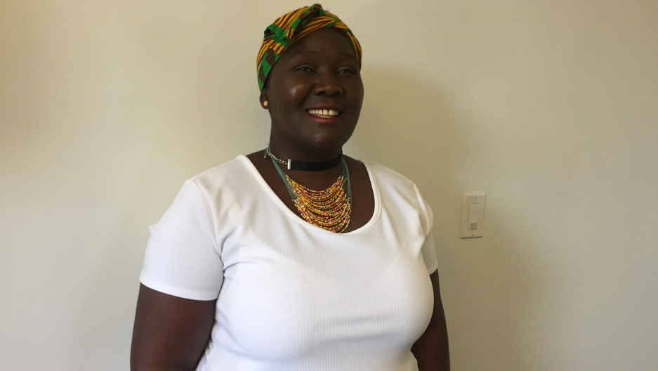Fainess Lipenga was trafficked by her boss, a former diplomat in the US from Malawi. Now, Lipenga is an advocate for victims of human trafficking.