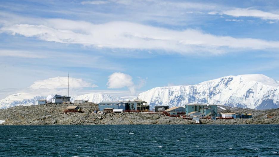 Palmer Station, Antarctica.