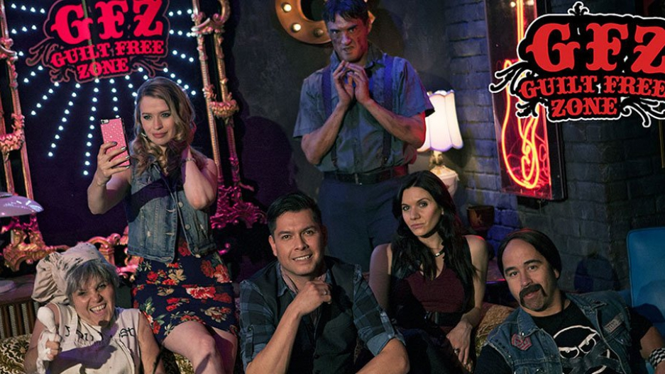 """The """"Guilt-Free Zone,"""" one of APTN's most popular programs, is set in a fictional speakeasy."""