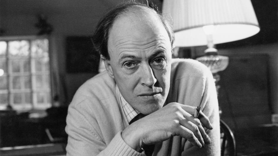 British writer Roald Dahl (1916 - 1990), 11th December 1971.