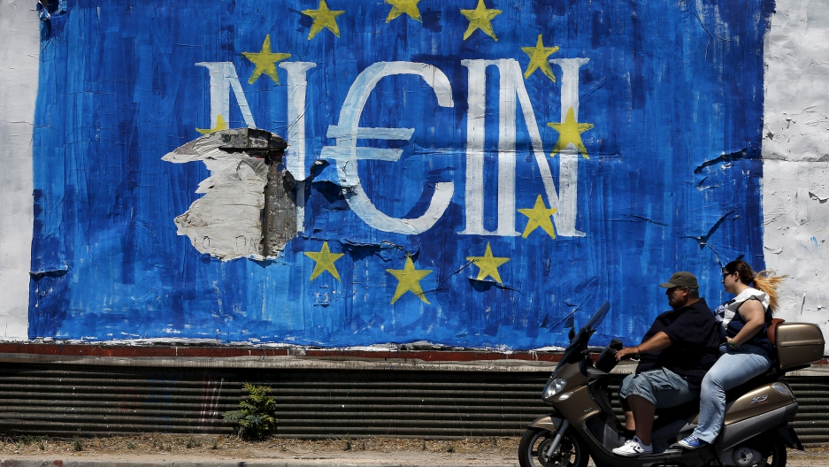 No to bailout by Euro Zone