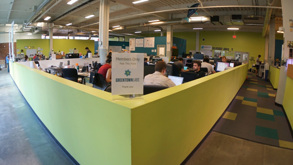 Greentown Labs in Somerville, Mass. has become the nation's largest clean technology incubator, housing more than 50 small companies.
