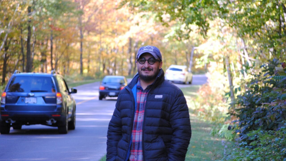 "Afghan journalist Habib Zahori made a cold trek across the US-Canada border on foot and on bicycle. ""I remember thinking, wishing, 'Oh God, please, please send someone to arrest me!' """