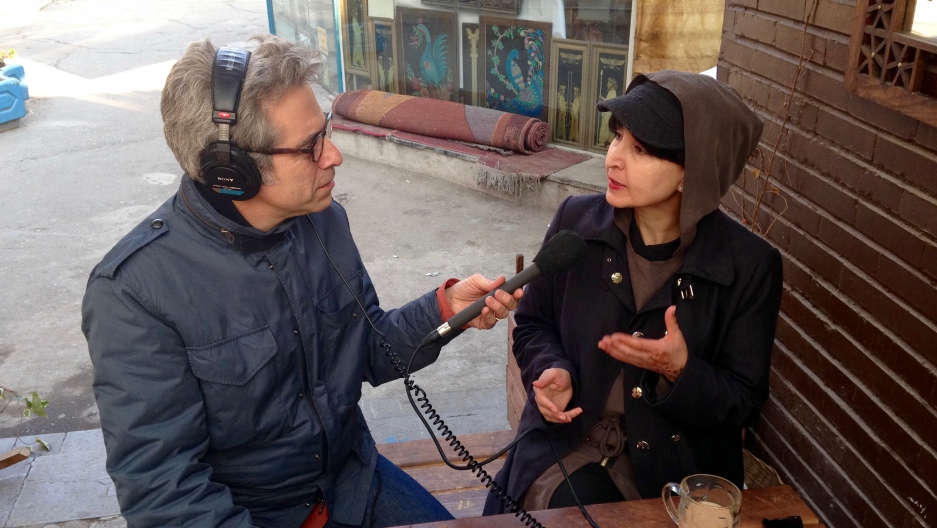 Marco Werman spoke with Persian food blogger Azita Houshiar in Tehran.